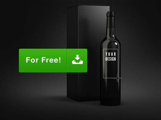 6.psd bottle mockup