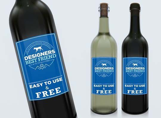 7.psd bottle mockup