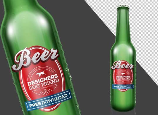 9.psd bottle mockup