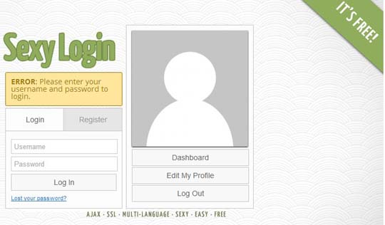 wordpress login form plugin