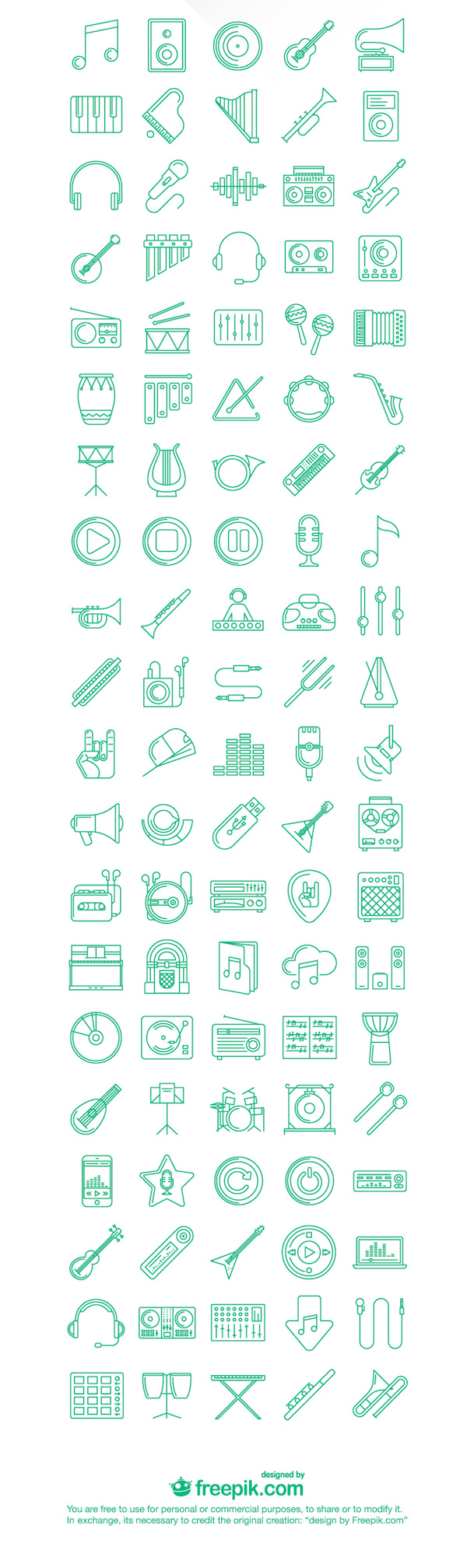 2.free music icons