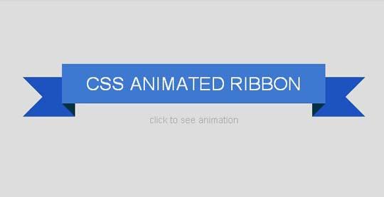 8.css ribbon