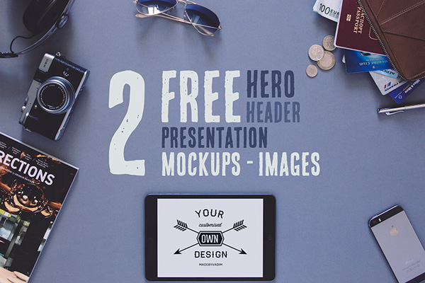 4.free hero hipster images psd