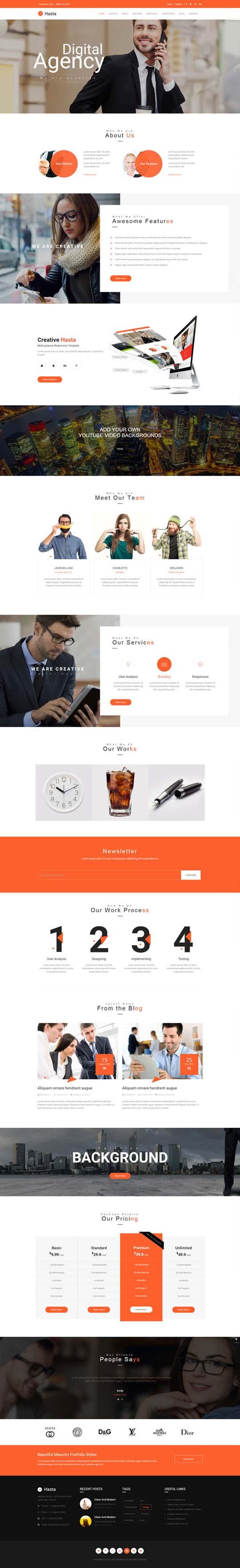 4.Responsive Design HTML5 Website Templates