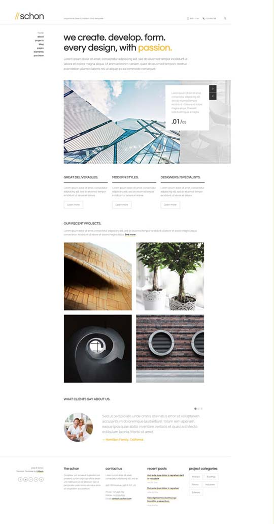 6.Responsive Design HTML5 Website Templates