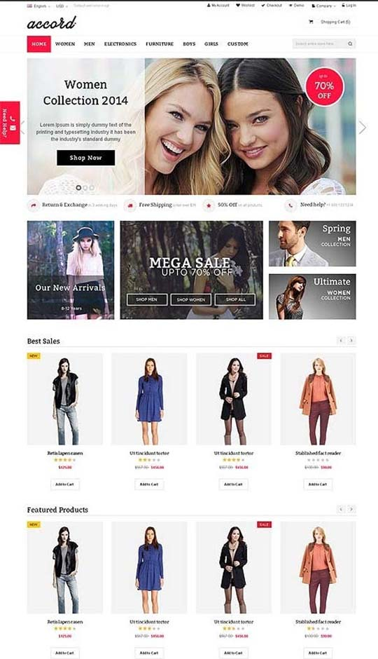 8.Responsive Design HTML5 Website Templates