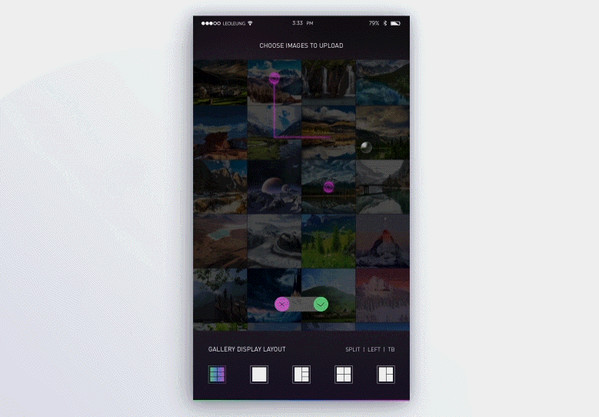 Examples of 3D Touch