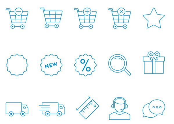Free eCommerce Icons