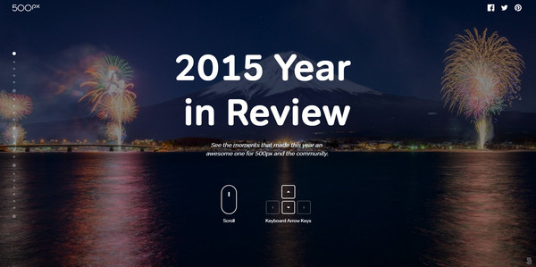 Year in Review by 500px