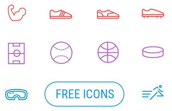 Free Sports Icons by Creative Tail