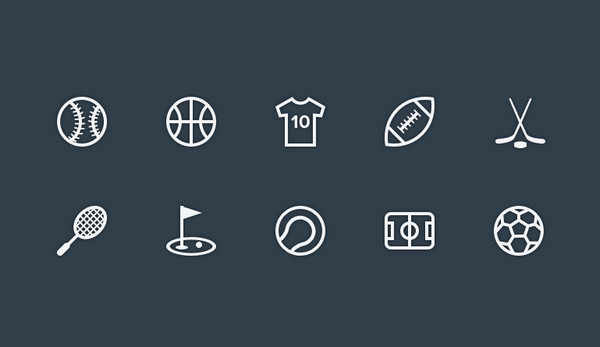 Outline icons by Ricardo Salazar