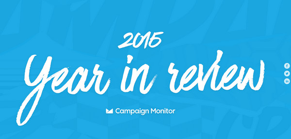 Annual Email Marketing Report by Campaign Monitor