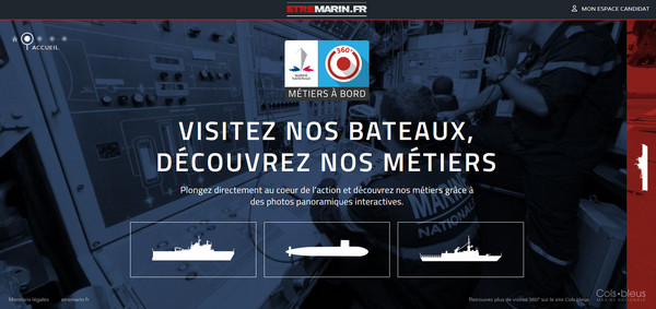 La Marine Nationale on Board Careers