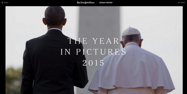The Year in Pictures by NYTimes