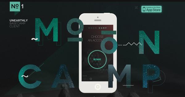 Moon Camp App