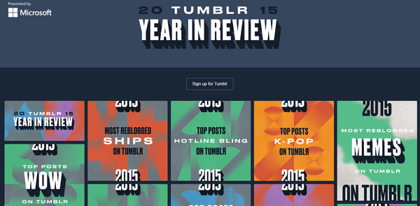 Tumblr's Year in Review