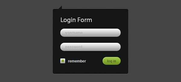 How to Create Login Form with CSS3 and jQuery [Tutorial]
