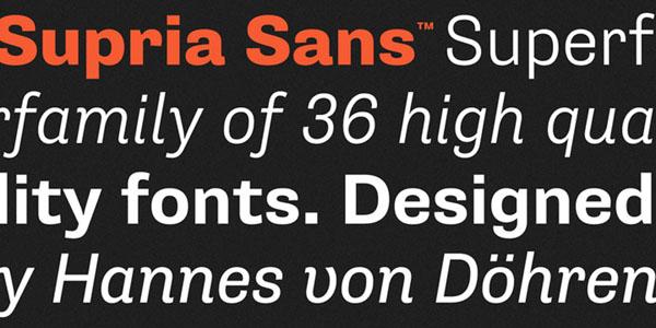 Supria Sans