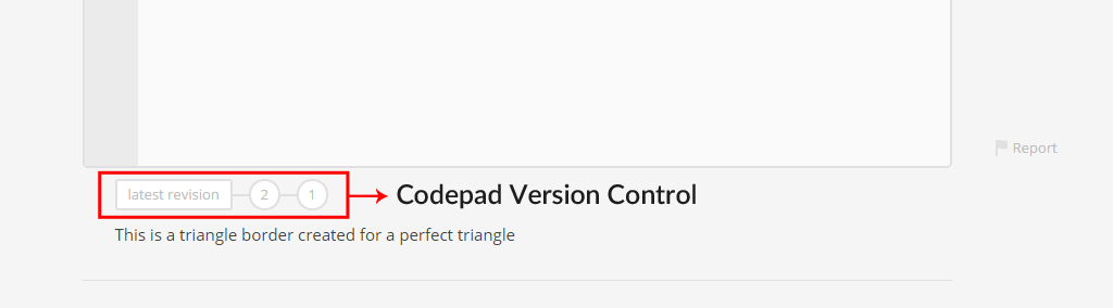 Codepad Version Control