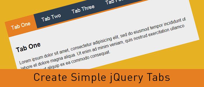 Create Responsive jQuery Tabs