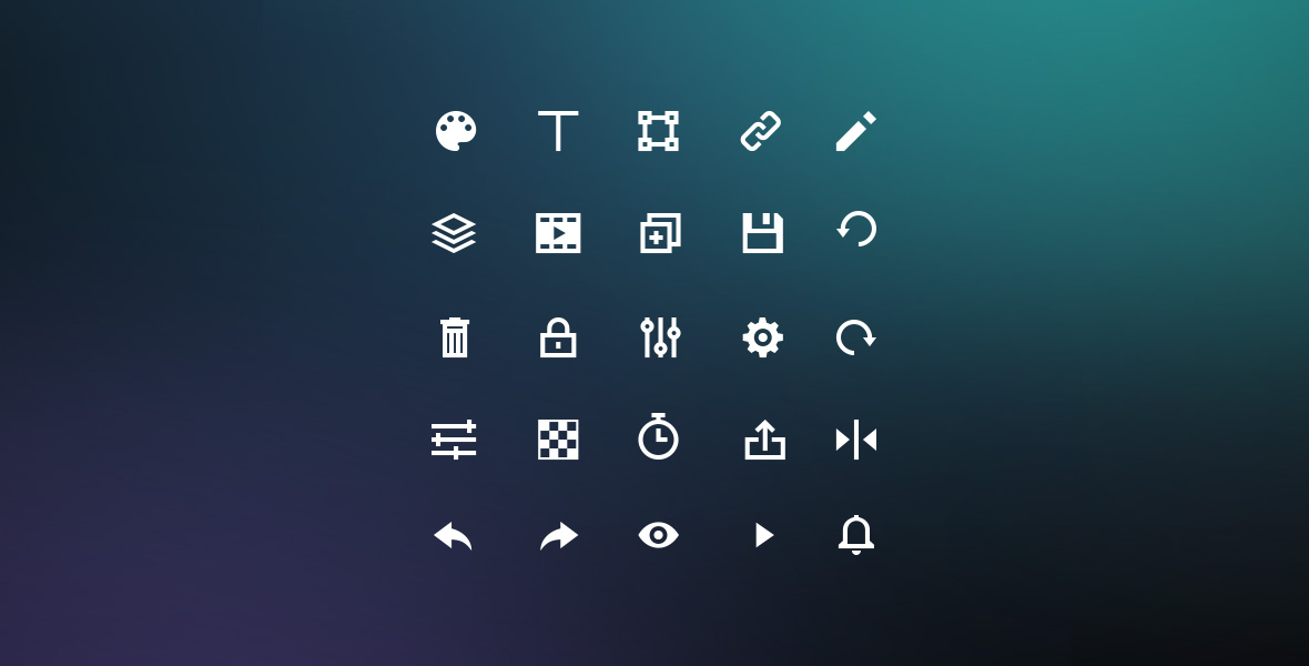 Bannersnack - Custom Icon Set