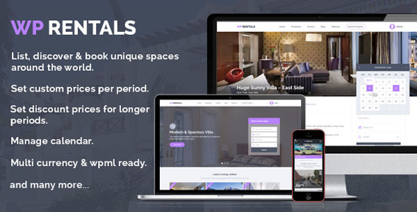 WordPress Themes Rentals