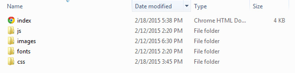 Our file Structure
