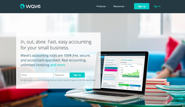 Wave Apps Accounting