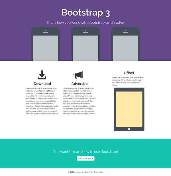 Installing Bootstrap and the Bootstrap Grid System | Pixelbell