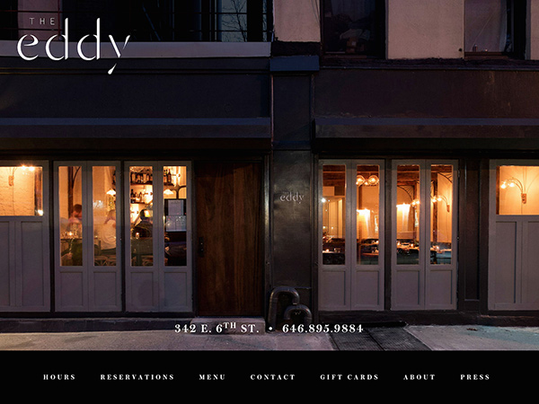 The Eddy NYC Restaurant